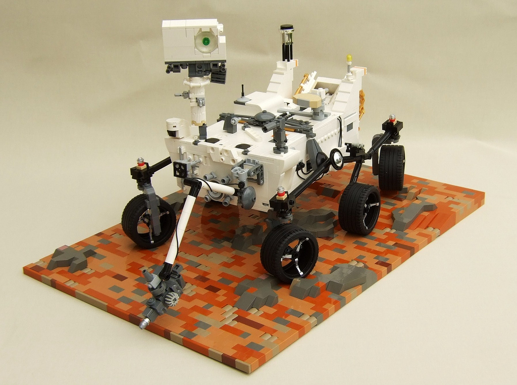 mars exploration rover lego - photo #8
