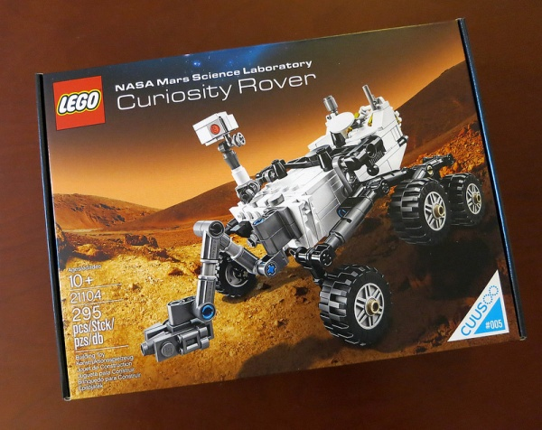 Got My Lego Mars Curiosity Rover Hands On The Surly Biker
