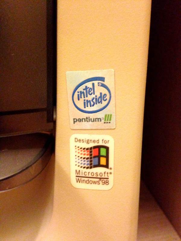 Oh yeah, PENTIUM 3 baby! A real screamin' machine!