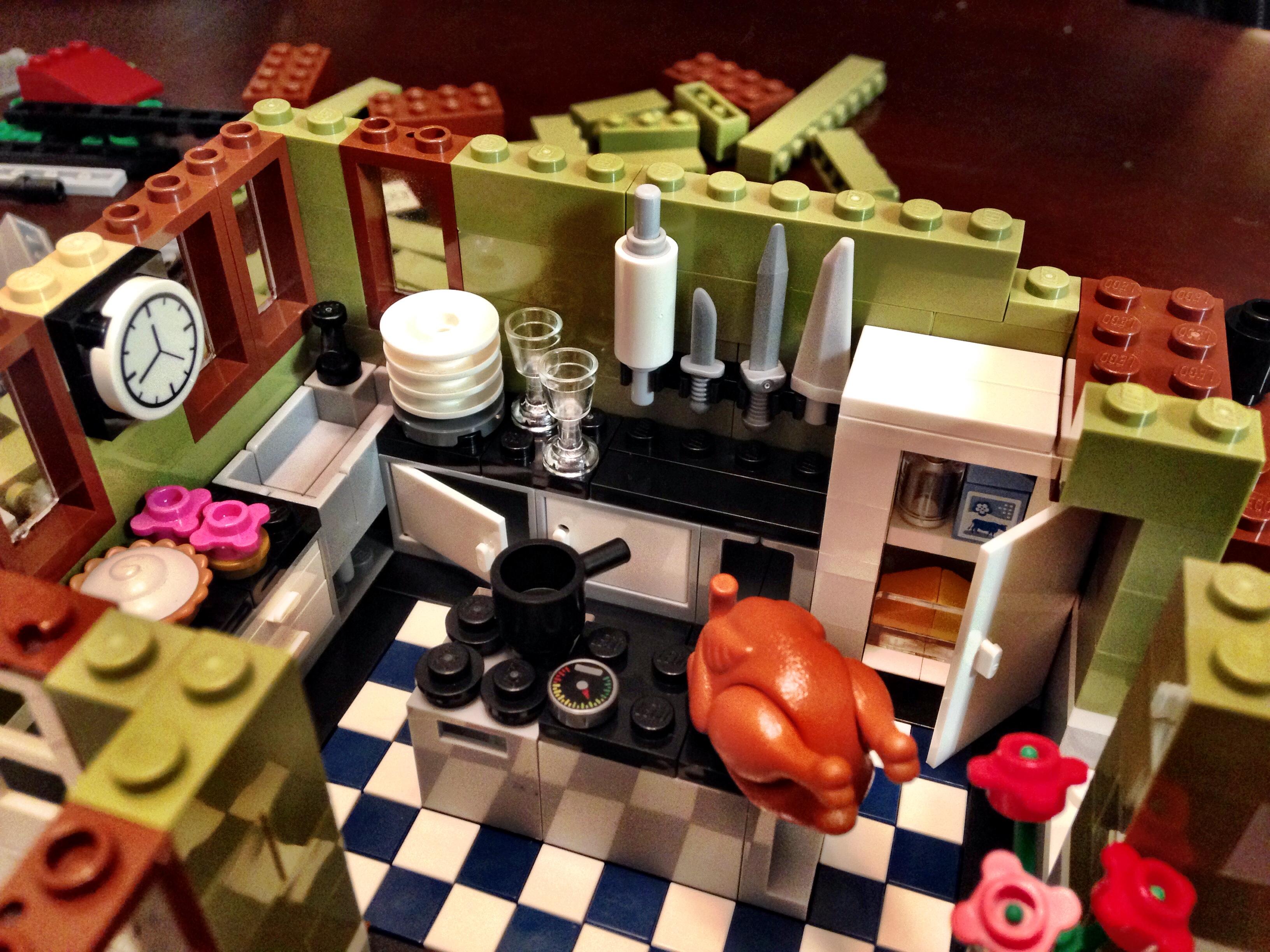 Review Lego Parisian Restaurant Modular The Surly Biker