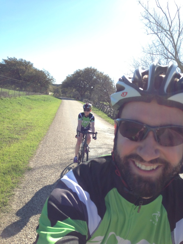 Bike selfie!