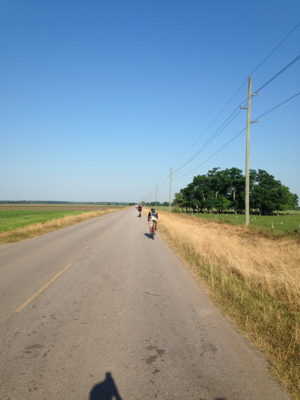 Open road in Fulshear